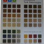 Tytan tablica mozaika
