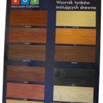 Tytan tablica tynk drewno